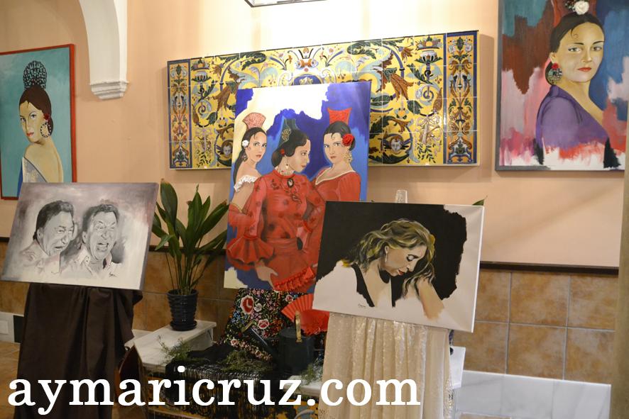 Exposición «La mujer Flamenca» de Nuria Moraza en Sevilla