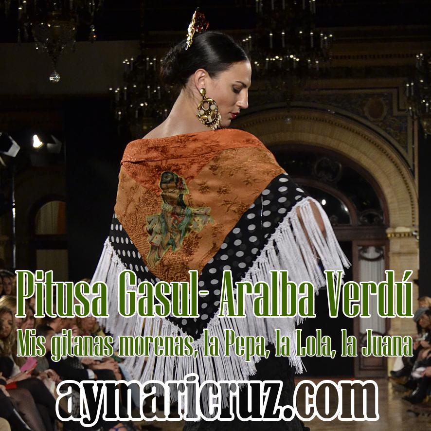 We Love Flamenco 2015. Pitusa Gasul – Aralba Verdú: Mis gitanas morenas, la Pepa, la Lola, la Juana