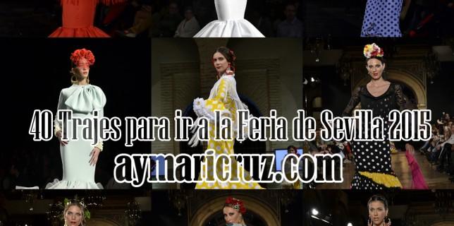 40 Trajes para ir a la Feria de Sevilla Abril 2015 (41)