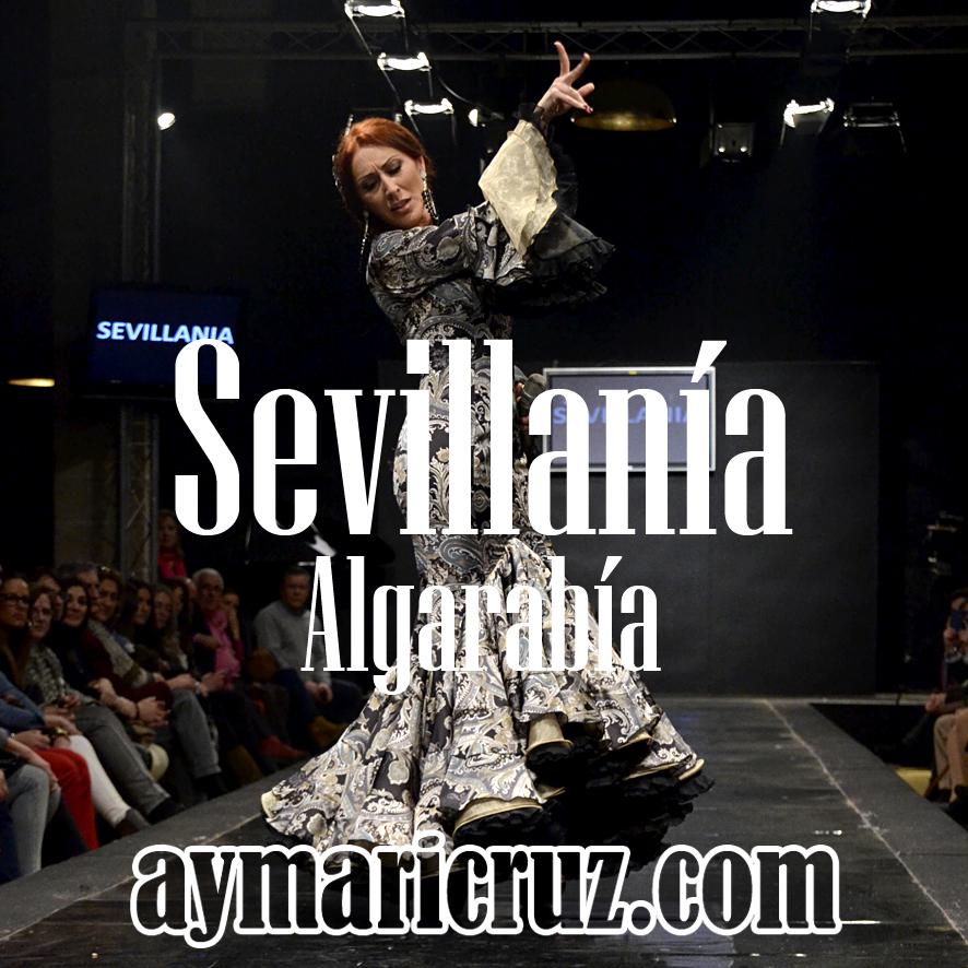 Pasarela Flamenca 2015. Pepe Fernández Sevillanía: Algarabía