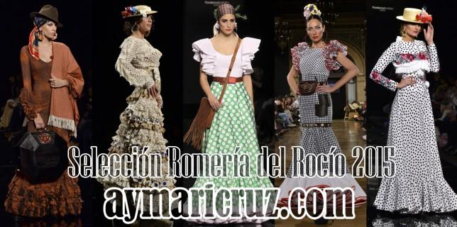 Selección Trajes Romería del Rocío 2015