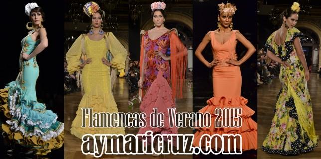 20 Trajes Flamencas de Verano 2015 (1)