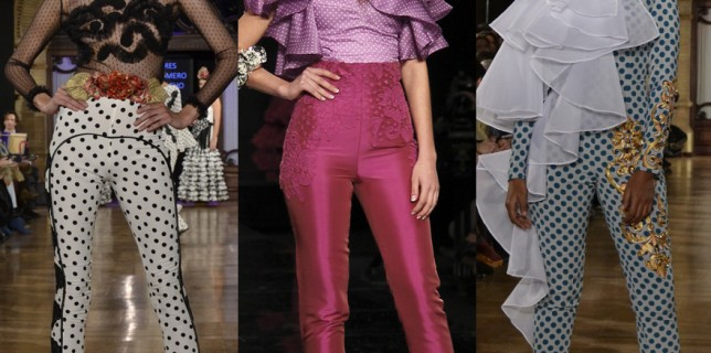 Pantalones y Moda Flamenca