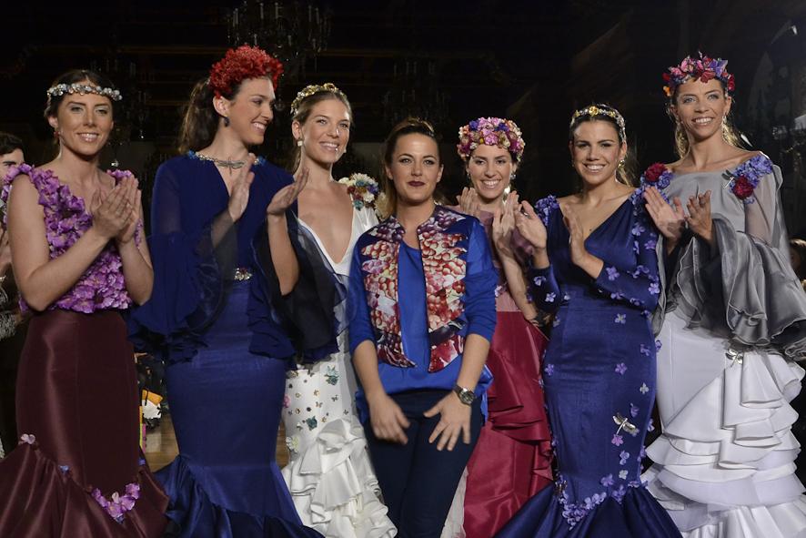 Inma Linares: 'Pasado el desfile, el fin de la colección es exponerla y vender'