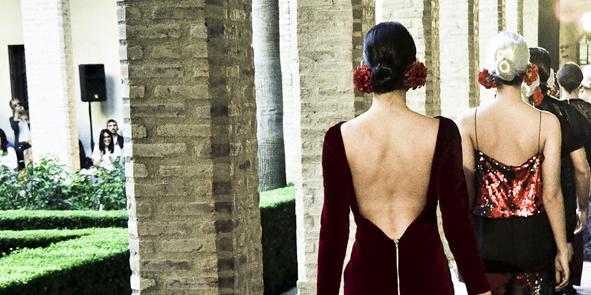 Andalucía de Moda 2015. Lorena Subires: Sombra y luz