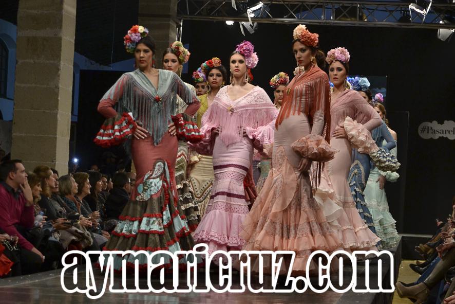 Pasarela Flamenca de Jerez 2016. Faly, de la Feria al Rocío: Fue tu querer