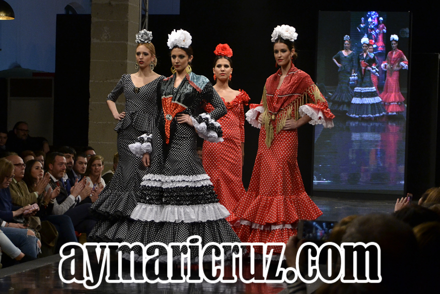 Pasarela Flamenca de Jerez 2016. Rocío Martín: Siempre P'alante