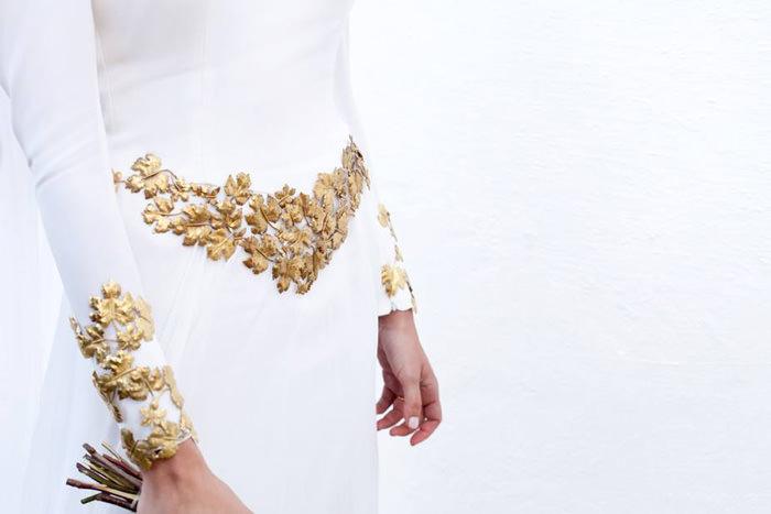 'Yo quería un traje de novia sencillo y clásico…'