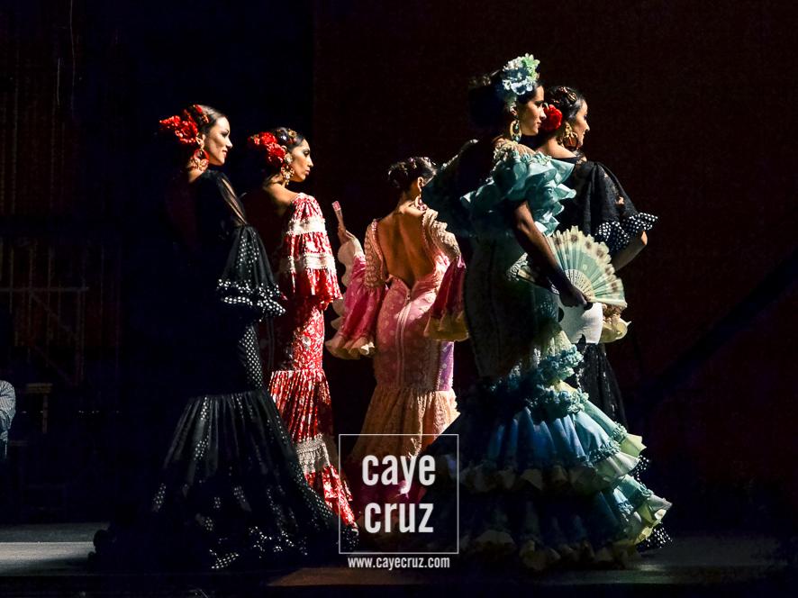 Andújar Flamenca 2017. Y los volantes se subieron al Escenario.