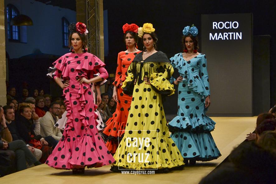 Pasarela Flamenca de Jerez 2017. Rocío Martín: Alegría de Vivir