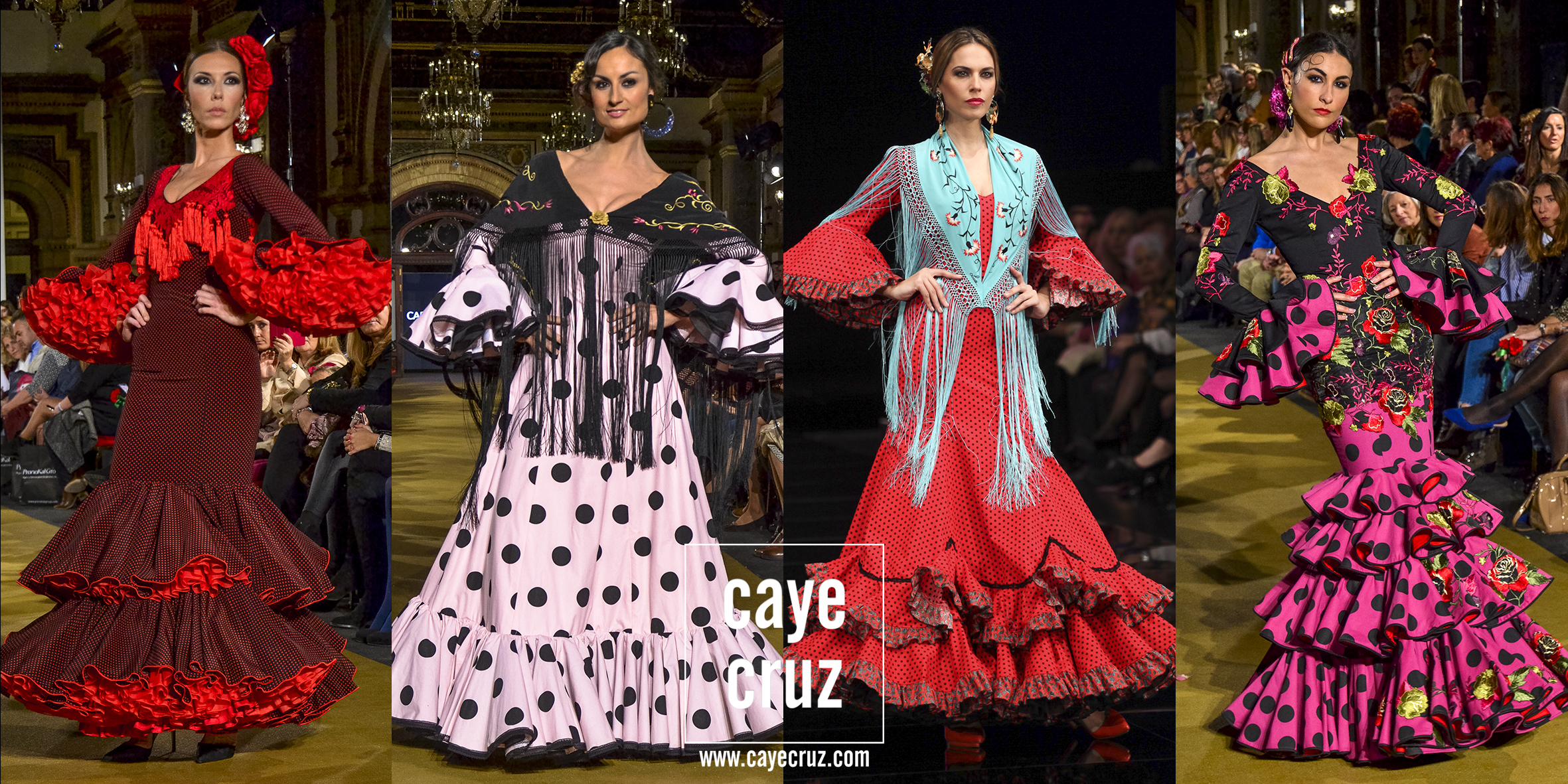 Moda Flamenca para la Feria 2017: Trajes clásicos