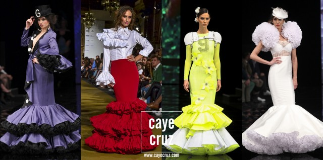 Trajes Feria de Sevilla 2017 Creativos 12