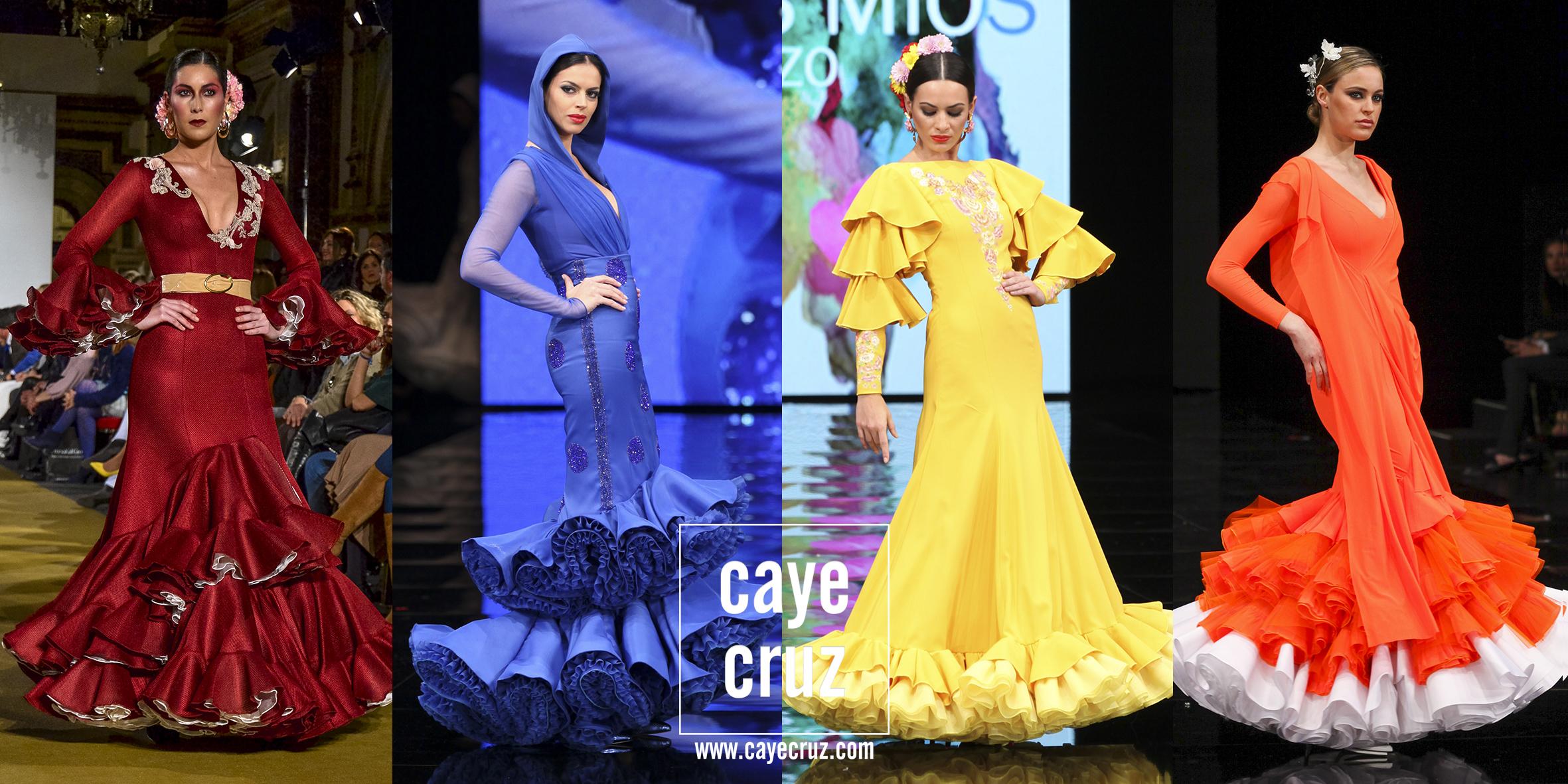Moda Flamenca para la Feria 2017: 10 trajes en 10 colores