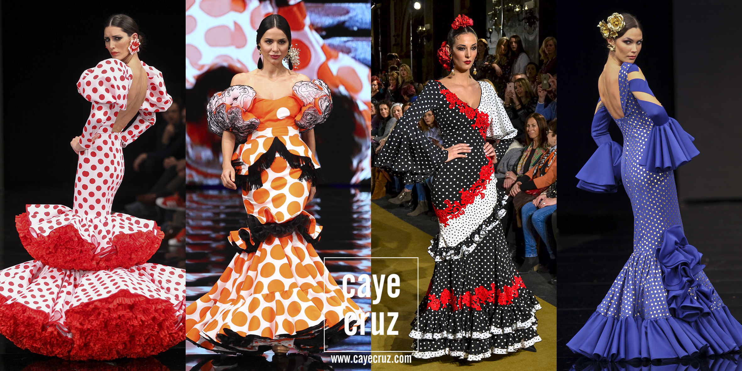 Moda Flamenca para la Feria 2017: Lunares