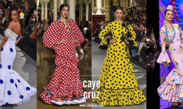 Moda Flamenca para la Feria 2018: Lunares