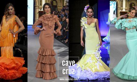 Moda Flamenca para la Feria 2018: 10 trajes en 10 colores