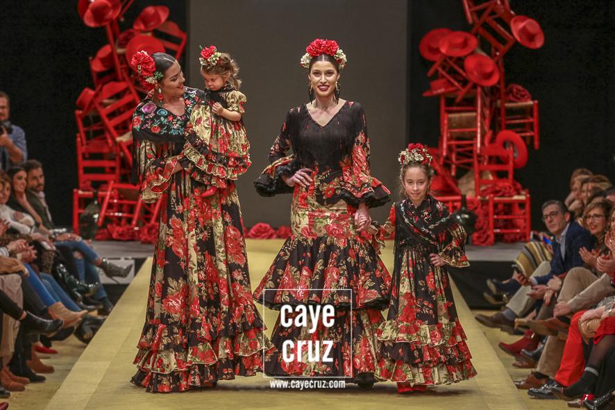 Pasarela Flamenca de Jerez 2019. Rocío Martín: Degitana Siempre