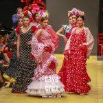 Pasarela Flamenca de Jerez 2019. Amparo Macia: María Luisa