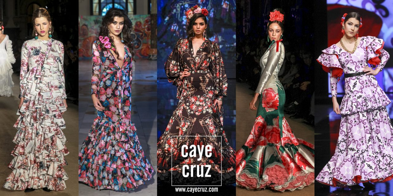 Moda Flamenca para la Feria de Sevilla 2019: Estampados