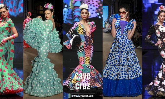 Moda Flamenca para la Feria de Sevilla 2019: Lunares