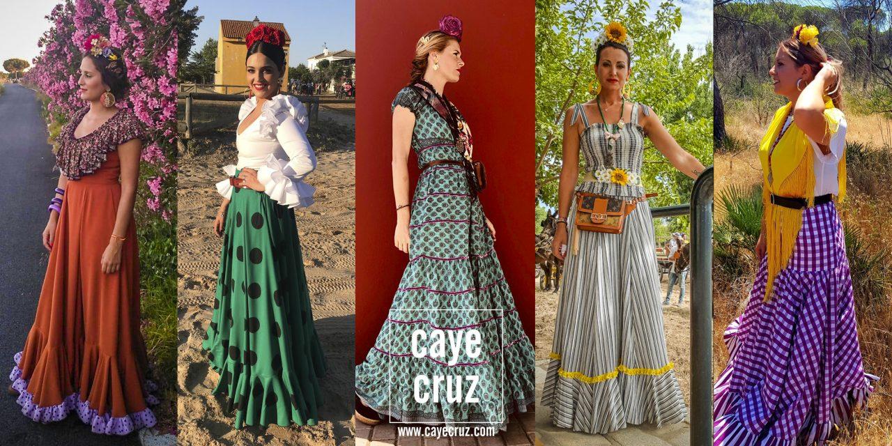 Flamencas en el Rocío 2019. 1ª Parte: Camino