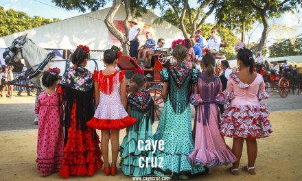 Flamencas en la Feria de Lebrija 2019