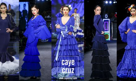 Tendencias Flamencas 2020: Azul clásico casi Flamenco