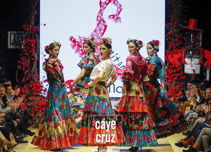 Pasarela Flamenca de Jerez 2020. Rocío Martín: Revuelo